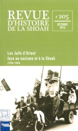 Revue du Mémorial de la Shoah nº205 -