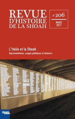 Revue d'Histoire de la Shoah nº 206 – ITALIE ET LA SHOAH -