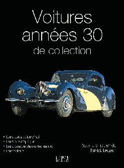 Voitures de collection des annes 30