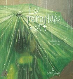 Le parapluie vert