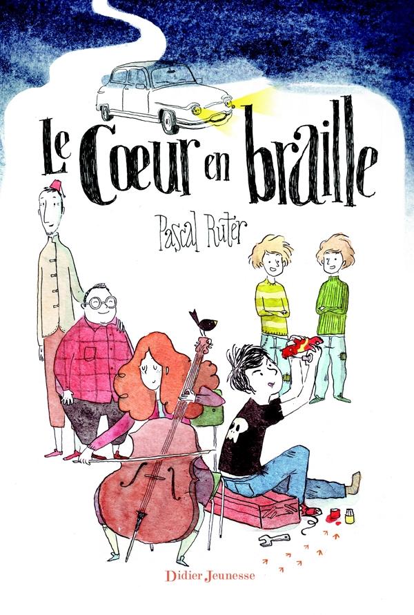 Le coin des lecteurs - Le coeur en braille, Pascal Ruter */**