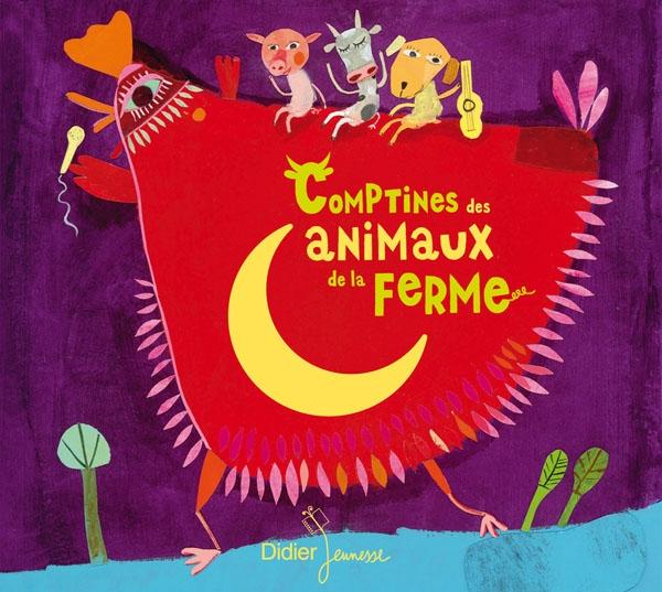 Comptines des animaux de la ferme (CD)