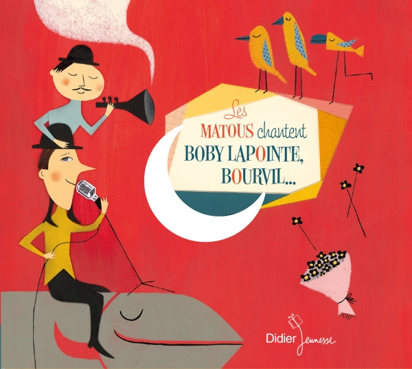 Les Matous chantent Boby Lapointe, Bourvil… (CD)