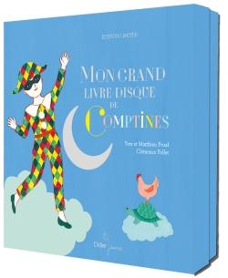 Mon grand livre-disque de comptines – Coffret Edition Luxe