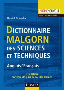 Dictionnaire Malgorn des sciences et techniques