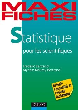 Maxi fiches de Statistique pour les scientifiques en 80 fiches