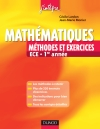 Mathmatiques - Mthodes et Exercices ECE - 1re anne