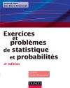 Exercices et problèmes de Statistique et probabilités