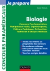 Biologie - Concours Psychomotricien, Manipulateur Radio, Ergothrapeute : Fiches, QCM, Annales