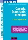 Canada, Etats-Unis, Mexique : Capes-Agrégation Géographie