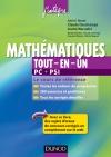 Mathématiques tout-en-un PC-PSI : Le cours de référence