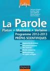 La parole : Programme 2012-2013 - Prépas scientifiques
