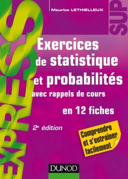 Exercices de statistique et probabilités