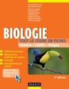 Biologie -Tout le cours en fiches : 300 fiches de cours, 300 QCM et bonus web