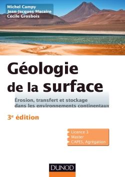 Géologie de la surface