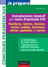 Entranement intensif aux tests d&#039;aptitude IFSI : Nombres, Lettres, Formes, Dominos, Cartes