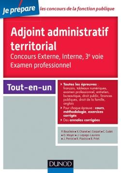 AAT  Métier d'Adjoint Administratif Territorial 1ère classe et son concours