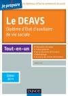 Je prépare le DEAVS : Diplôme d'État d'auxiliaire de vie sociale