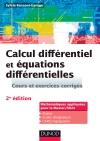 Calcul différentiel et équations différentielles : Cours et exercices corrigés