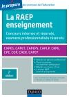 La Raep enseignement - Concours internes et réservés, examens professionnalisés réservés : CAPES, CAPET, CAPEPS, CAPLP, CRPE, CPE, COP, CAER, CAFEP