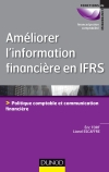 Améliorer l'information financière en IFRS : Politique comptable et communication financière