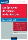 Les épreuves de français et de rédaction : Catégories B et C