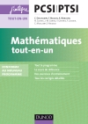 Mathématiques tout-en-un PCSI-PTSI : Conforme au nouveau programme