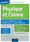 Physique et Chimie : Concours Manipulateur radio, Ergothérapeute, Audioprothésiste