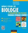 Mémo visuel de biologie : L'essentiel en fiches