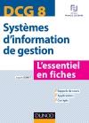 DCG 8 - Systèmes d'information de gestion : L'essentiel en fiches