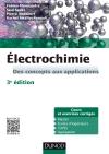 Électrochimie : Des concepts aux applications - Cours et exercices corrigés
