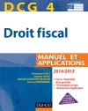 DCG 4 - Droit fiscal 2014/2015 : Manuel et Applications