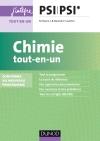 Chimie tout-en-un PSI-PSI* : nouveau programme 2014