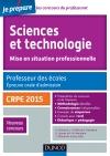 Sciences et technologie. Professeur des écoles. Oral admission. CRPE 2015 : CRPE 2015