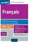 Français. Professeur des écoles. Epreuve écrite d'admissibilité : CRPE 2015