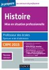 Histoire. Professeur des écoles. Oral admission. CRPE 2015 : CRPE 2015