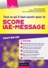 Tout ce qu'il faut savoir pour le Score IAE-Message : Tout-en-un