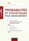 Probabilités et statistiques pour l'enseignement : CAPES, CAPLP, Agrégation