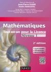 Mathématiques Tout-en-un pour la Licence 1 : Cours complet, exemples et exercices corrigés