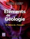 Eléments de géologie - 15e édition du Pomerol : Cours, QCM et site compagnon