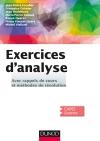 Exercices d'Analyse : Avec rappels de cours et méthodes de résolution