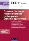 Economie, Sociologie, Histoire des sociétés contemporaines : Economie approfondie - ECE 1