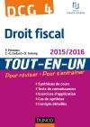 DCG 4 - Droit fiscal 2015/2016 : Tout-en-Un