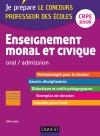 Enseignement moral et civique - Professeur des écoles - Oral admission : CRPE 2016