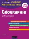 Géographie - Oral / admission - Professeur des écoles : CRPE 2016