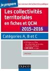 Les collectivités territoriales en QCM : Catégories A, B et C