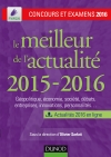 Le meilleur de l'actualité 2015-2016 : Concours et examens 2016