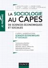 La sociologie au Capes de Sciences économiques et sociales