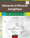 Démarche d'efficacité énergétique : en 20 fiches-outils