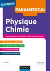 Concours paramédicaux - Physique et Chimie : Concours Ergothérapeute, Manipulateur radio, Audioprothésiste